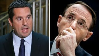 Devin Nunes and Rod Rosenstein