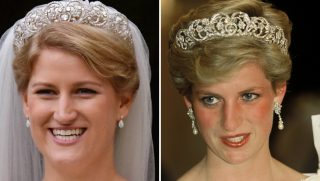 Princess Diana and niece