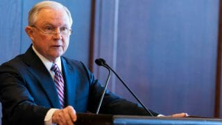 U.S. Attorney General Jeff Sessions delivers speech about immigration and law enforcement actions.