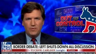 Tucker Carlson talks about media propaganda on Tucker Carlson Tonight.
