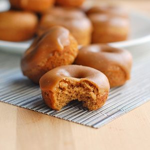 Pinch of Yum Gingerbread Donuts