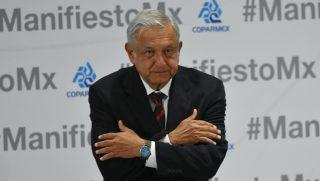 Mexican presidential candidate candidate Andrés Manuel López Obrador