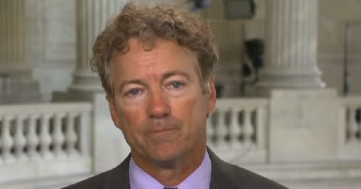 Rand Paul: Obama Admin Sought To Criminally 'Entrap' Trump Campaign