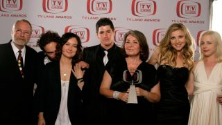 The cast of 'Roseanne' poses for a portrait during the 6th annual 'TV Land Awards'