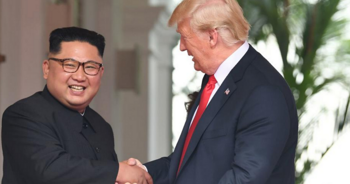 Trump Announces 'Big Step Back' From Nuclear War, Thanks Chairman Kim