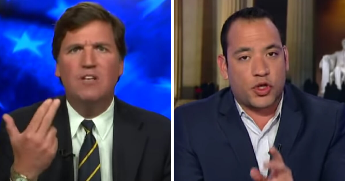 Angriest We've Ever Seen Tucker... Tells Activist for Illegals 'You're Stupid, Pathetic'