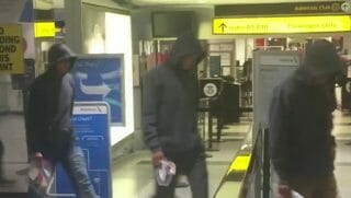 seven boys, who appeared to be unaccompanied migrant children, arrived at New York's La Guardia Airport