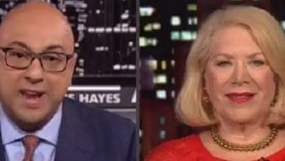 Ali Velshi, left, and Jill Wine-Banks