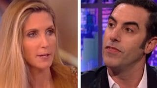 Ann Coulter, left, with Cohen