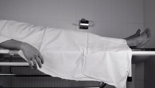 Body in Morgue