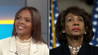 Candace Owens and Maxine Waters