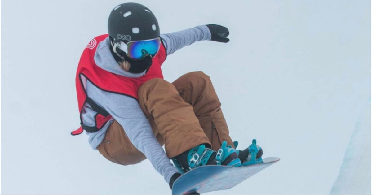 Snowboarder Ellie Soutter
