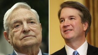 George Soros and Brett Kavanaugh