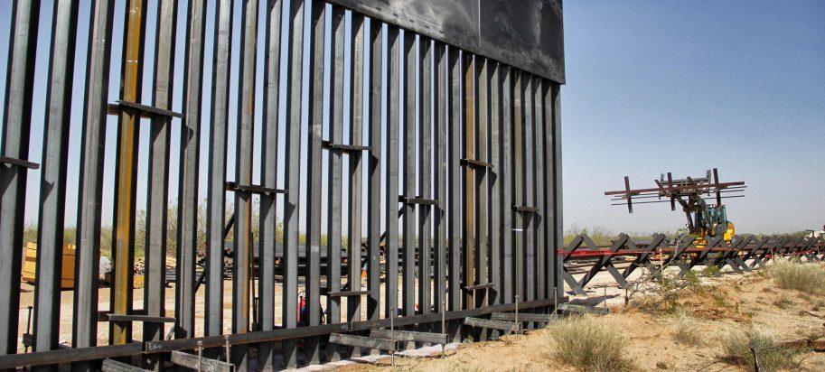 US Mexico Border Wall