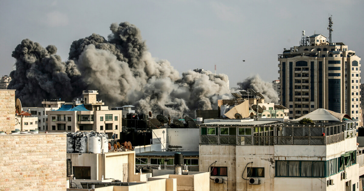 Israel Trades Fire with Palestinian Militants as Gaza Protests Push Forward