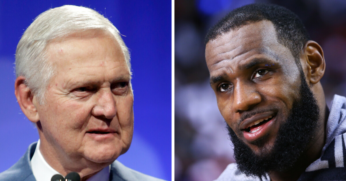 NBA Legend Jerry West Not Impressed With LeBron Joining Lakers