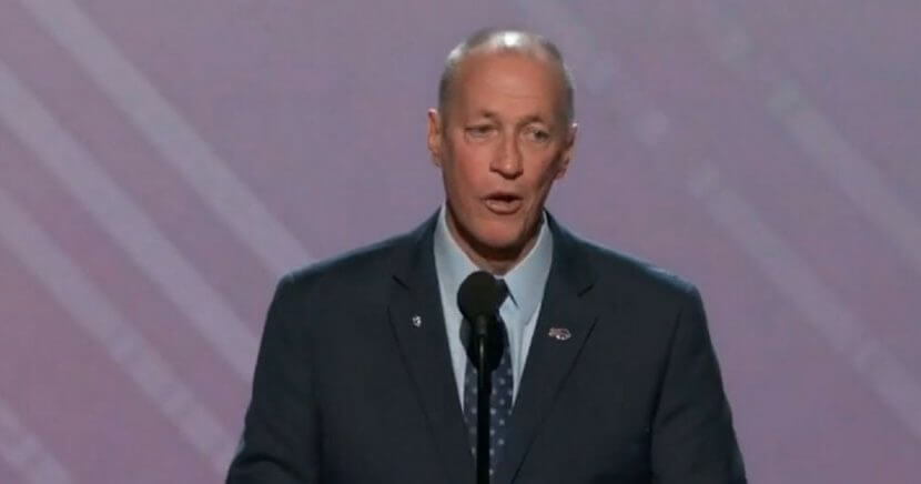 Jim Kelly speaks during the 2018 ESPY Awards
