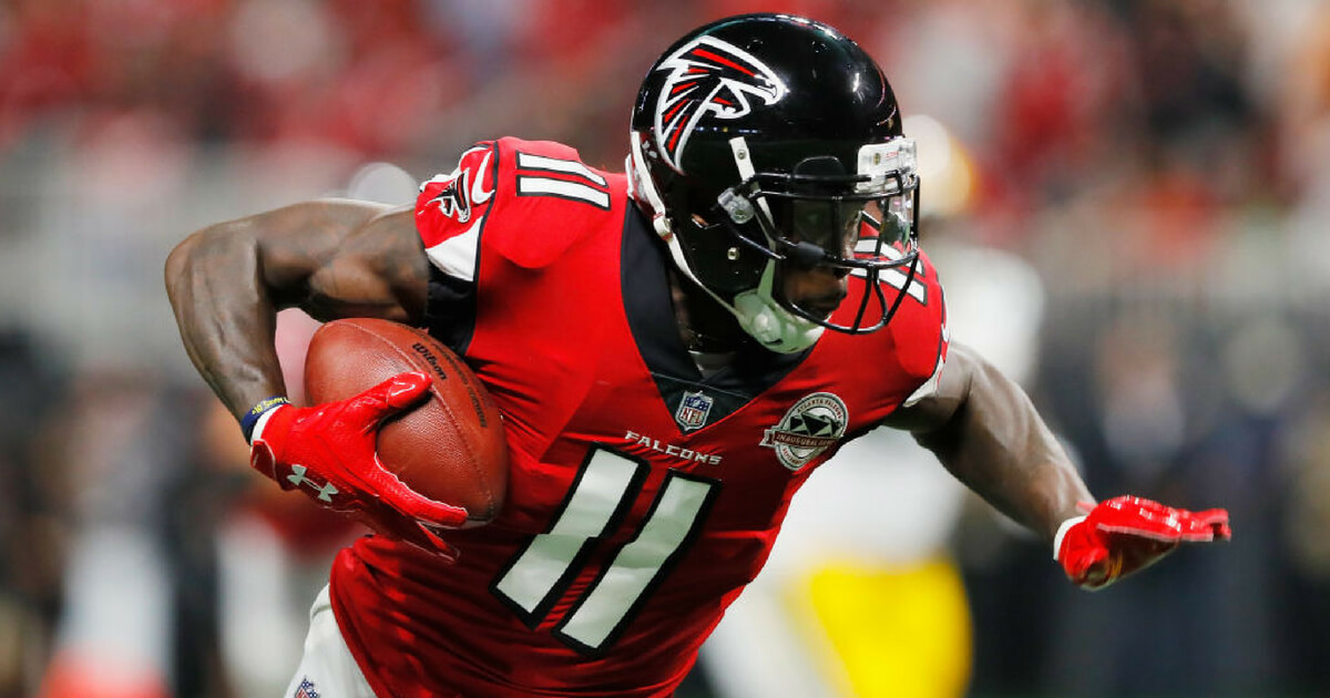 Julio Jones holds out for more money, will be fined $40K ...Julio Jones