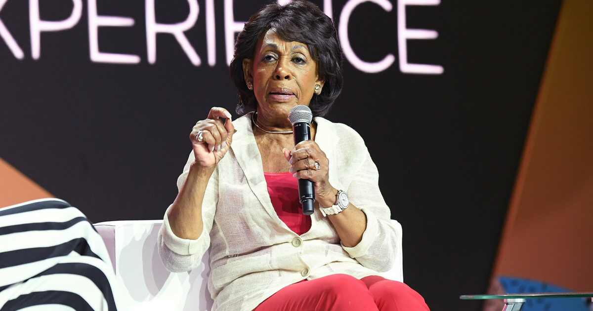 NEW ORLEANS, LA - JULY 07: Maxine Waters speaks onstage during the 2018 Essence Festival presented by Coca-Cola at Ernest N. Morial Convention Center on July 7, 2018 in New Orleans, Louisiana
