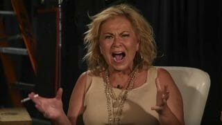 Roseanne loses it on a video explaining her tweet about Valerie Jarret.