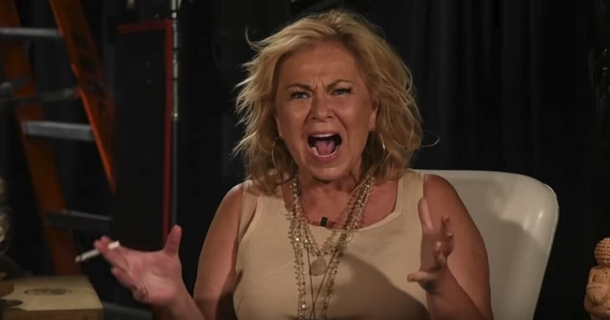 Roseanne loses it on a video explaining her tweet about Valerie Jarret.