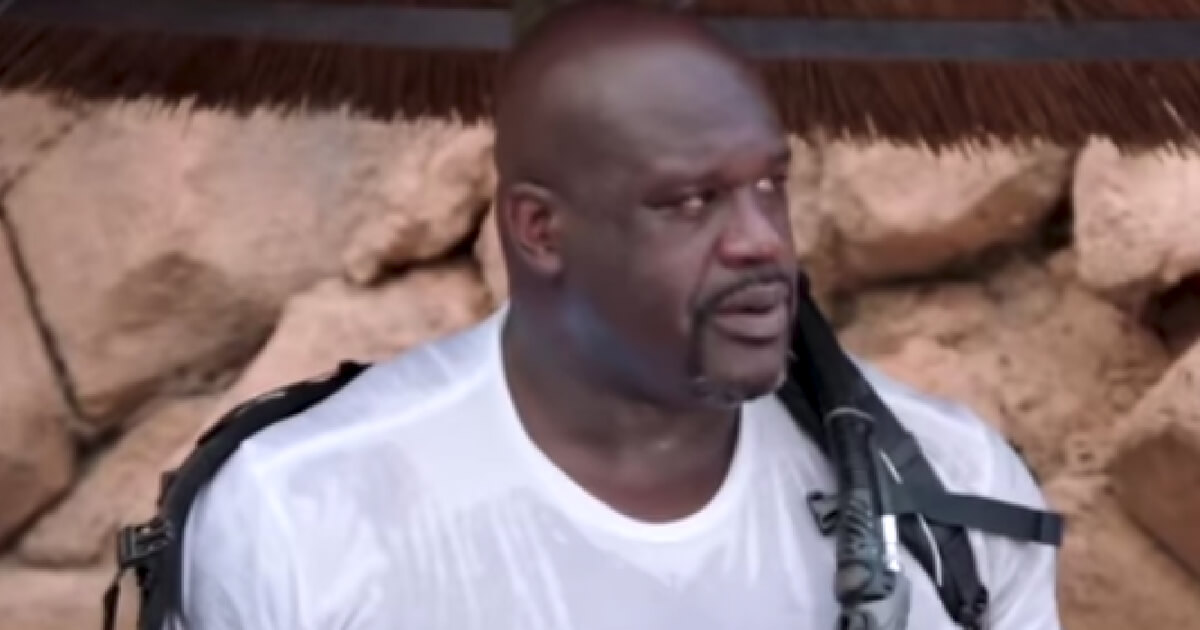 Shaquille O'Neal takes diving lessons prior to his encounter with sharks on Discovery Channel