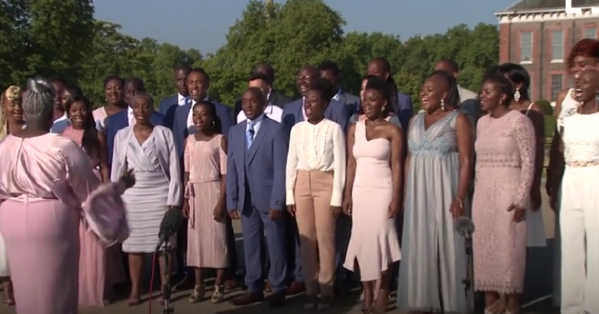 The Kingdom Choir recently signed a record deal with Sony U.K.