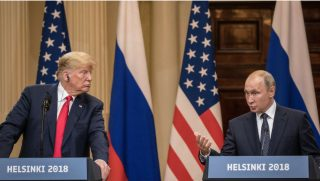 Donald Trump and Vladimir Putin ercently met at the Summit.