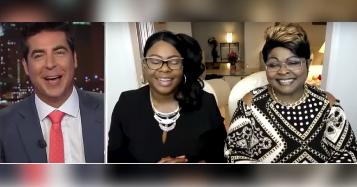 Jesse Watters talks with Diamond and Silk about President Trump and Maxine Waters.