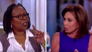 "Whoopi Goldberg and Jeanine Pirro argue on ""The View"""