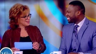 Joy Behar interview 50 cent on The View