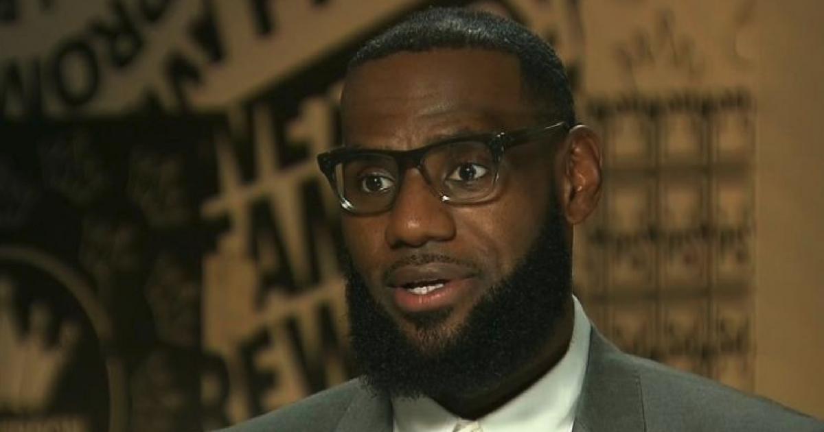 LeBron James in CNN interview
