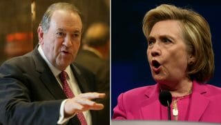 Mike Huckabee/Hillary Clinton