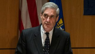 Robert S. Mueller speaks at the International Conference on Cyber Security