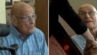 105 Year Old Gets Diploma