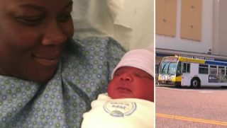 Baby Born on Bus