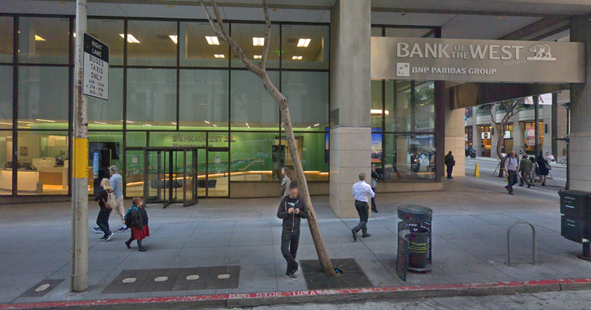 Bank of the West headquarters in San Francisco.