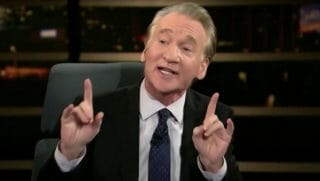 Bill Maher defends Infowars' Alex Jones' right to free speech during a segment on his HBO show.