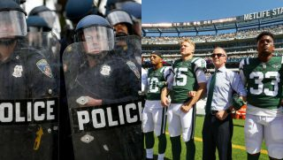 Blue Lives Matter recently turned town a request for partnership by the New York Jets.