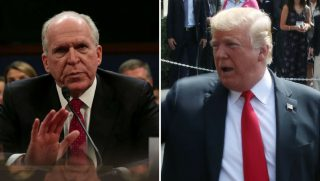 Brennan and Trump