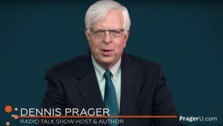 Dennis Prager appears in a Prager U video.
