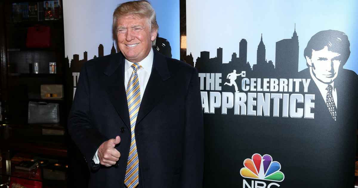 Donald Trump attends 'Celebrity Apprentice' Red Carpet Event at Trump Tower on January 20, 2015 in New York City.