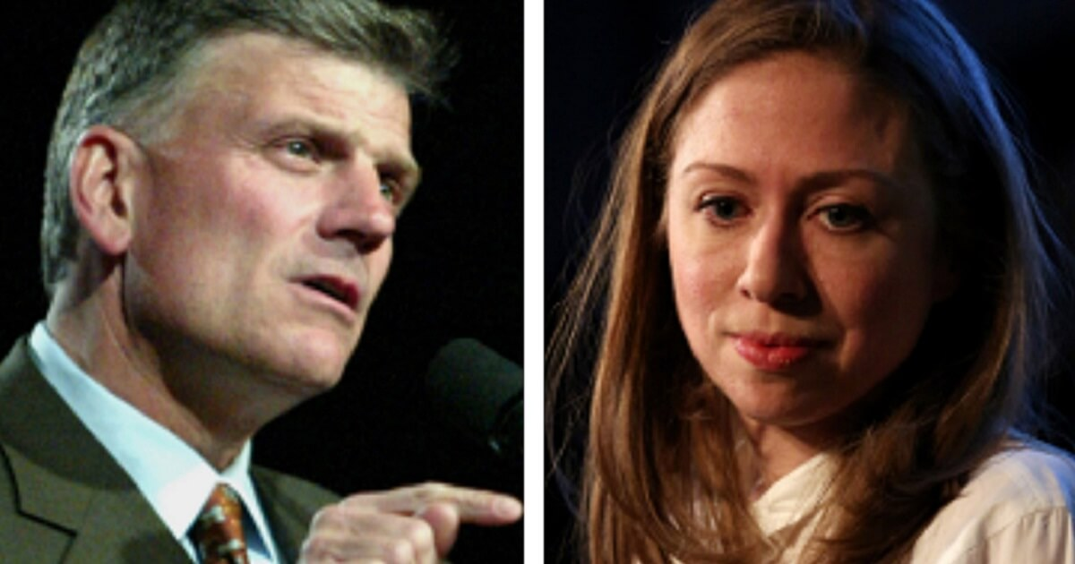 Franklin Graham Rips Chelsea Clinton for Saying Abortions Added Trillions to Economy
