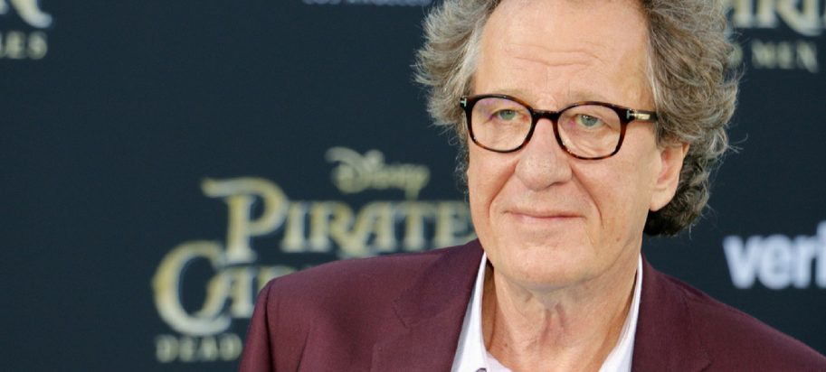 Geoffrey Rush was accused of sexual misconduct.