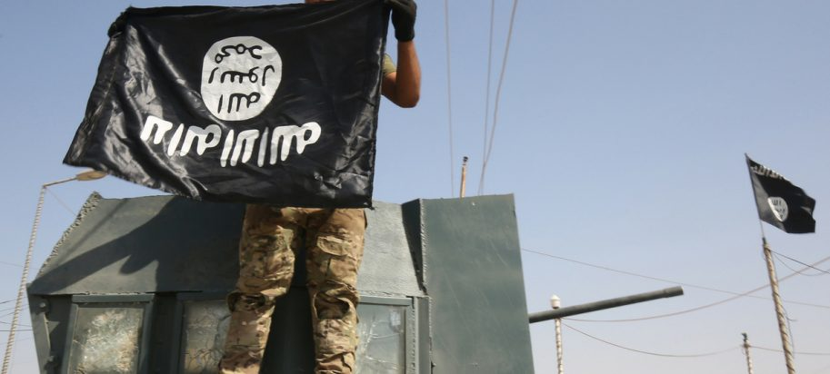 Isis Upside Down Flag