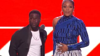 Kevin Hart and Tiffany Haddish.