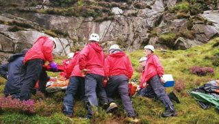 Mountain Rescue Raining Sheep