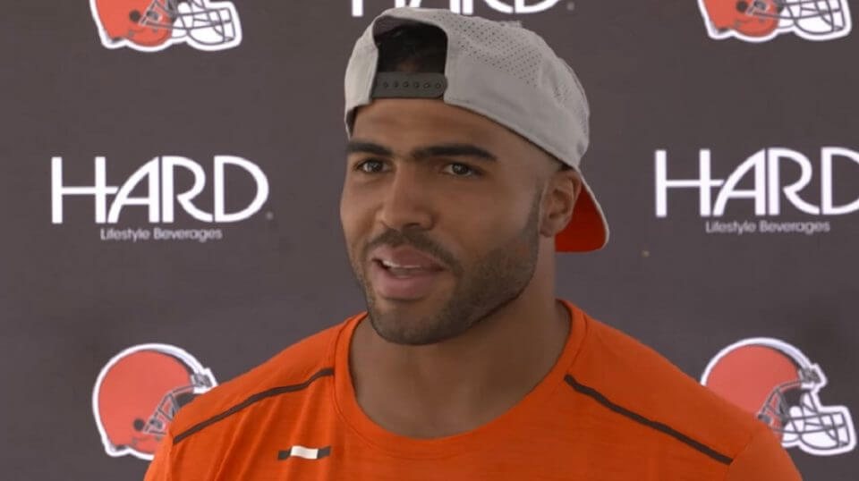 Mychal Kendrick at an Aug. 13 news conference.