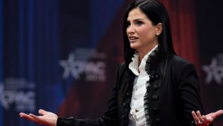 Spokeswoman for the National Rifle Association Dana Loesch speaks during the 2018 Conservative Political Action Conference at National Harbor in Oxon Hill, Maryland, on Feb. 22, 2018.