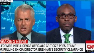Phillip Mudd, left, angry at Paris Dennard